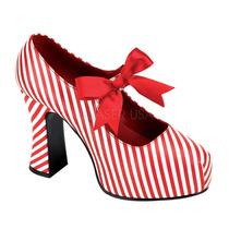 Zapatillas Bicolor Caramelo Cosplay Halloween Candycane-48
