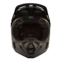 Tb Casco Motocicleta 2014 Fox V4 Matte Carbon Motocross