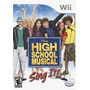 High School Musical Sing It Wii Nuevo De Fabrica
