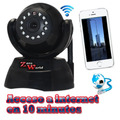 Camara Cctv Ip Wifi Motorizada Control X Internet 3g Negocio