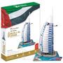 Cubicfun 3d Rompecabezas Hotel Dubai Burj Al Arab 101 Pz.