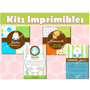 Invitaciones Para Bautizo, Kit Imprimible