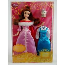 Bella Que Canta 12pulg Vestuario Disney Store Nueva En Caja