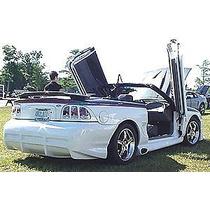 Estribos Con Escapes Lateral Ford Mustang Tipo Svo 1994 1998