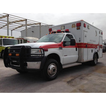 Ambulancia - 2007 Ford F350 Sd 4x4