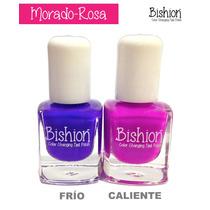Esmaltes De Uñas Que Cambian De Color Con El Calor- Bishion
