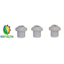 Boquilla De Retorno Pvc Para Alberca 1.5 Pulg A 3/4 Ecomaqmx
