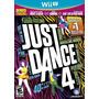 Just Dance 4 Wii U Nuevo De Fabrica