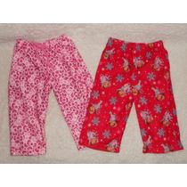 Lote 2 Pantalones Pijama Nena 1 Año Dora Exploradora Y Kitty