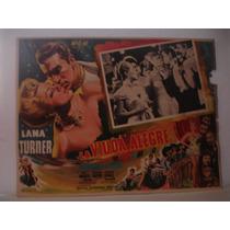 Lana Turner , La Viuda Alegre , Cartel De Cine