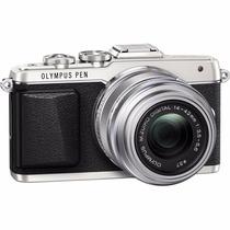 Olympus Pen E-pl7 16mp Con Lente 14-42mm Ez + Lente 40-150mm