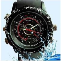 Reloj Espia Hd 16gb Vision Nocturna Resistente Agua Recargab
