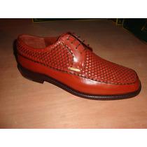 Zapato De Piel Color Miel