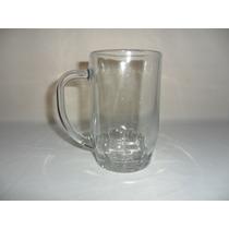 Tarro Cervecero Liso De Cristal De 550 Mls Uso Rudo