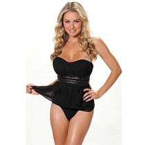Shirley Of Hollywood Corset Black Corset Dama