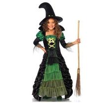 Disfraz De Bruja De Cuento, Wicked Para Niñas, Envio Gratis