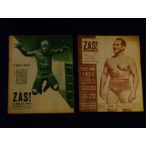 Blue Demond Zas! Revista Recortes De Periodicos Lucha Libre