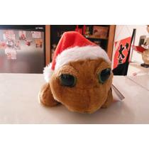 Peluche Tortuga Caguama Turtle Navidad Christmas Mar Sea