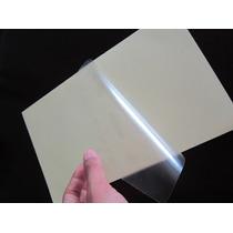 Película Adhesiva Transparente Para Etiquetas Doble Carta