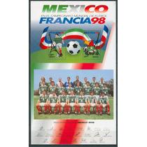 Sc 2069 Año 1998 Francia 98 Hoja Souvenir