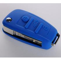 Funda De Silicon Audi A1 A3 A4 A5 A6 Q3 Q5 Tt Rojo Y Azul
