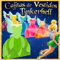 Cajitas Recuerdos Tinker Bell Hadas Piratas Y Princesas 5x1
