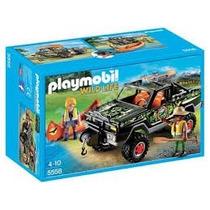 Playmobil 5558 Pick Up Con Canoa Camioneta Suv 4x4 Aventuras
