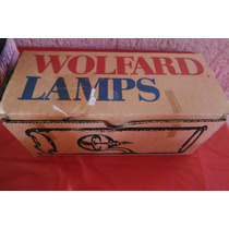 Preciosa Oil Lampara De Vidrio Soplado Wolfard Vintage Retro
