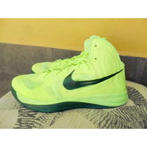 Tenis Nike Hyperfuse 2012 Volt (usados) + Envio Gratis Dhl