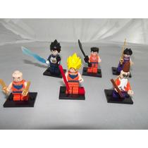 Set De Figuras Tipo Lego De Dragon Ball 6 Pzas