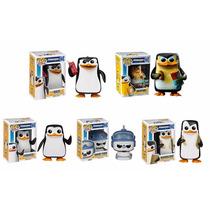 Funko Pop Set 5 Penguins Rico Kowalski Skipper Private Short