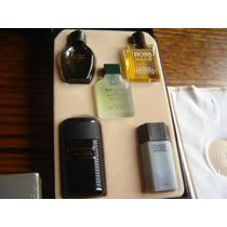 Perfume Miniatura Coleccion Estuche Hombre Smalto Boss