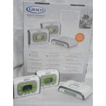 Radio Monitor Para Bebe Doble Via Graco Bateria Recargable
