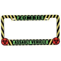 Portaplacas Plastico, Zombie Assault Vehicle