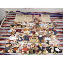 Coleccion Familia De Osos De Peluche Importados Y Fasciculos