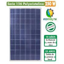 Panel Solar Fotovoltaico 250w En Guadalajara Ecomaqmx