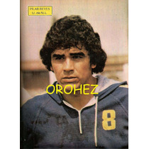 Revista Futbol Balón Tigres Uanl Pilar Reyes 1981