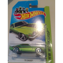 Hot Wheels De Coleccion 2014 70 Camaro Vbf