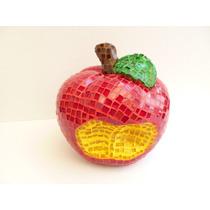 Artesania De Manzana Mosaico Para Regalar O Como Decoración