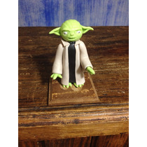 Figura De Yoda De Pasta Flexible. Hecho A Mano. Star Wars