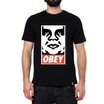 Playeras O Camiseta Obey Tallas 100% Calidad