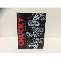 Chucky , Boxset Con La Coleccion Completa Peliculas En Dvd