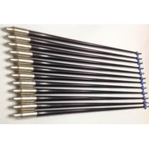 12 Flechas De Fibra De Vidrio Para Arco Reforzadas