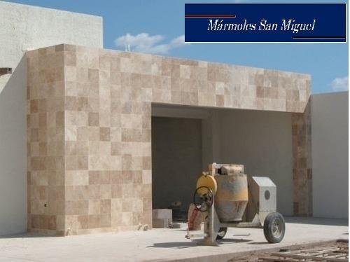 Piso de marmol travertino fiorito lamina fachadas for Fotos de pisos de marmol travertino
