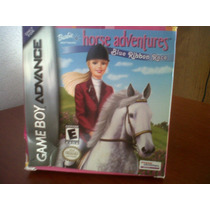 Gameboy Advance Barbie Horse Adventures, Seminuevo, Original
