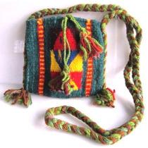 Bolsa Chica Textil Tejida