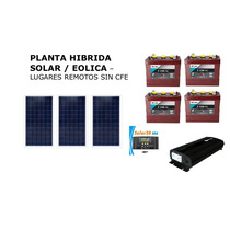 Planta Solar 435 Watts