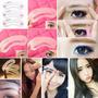 Set De 3 Plantillas Reusables Para Maquillar Unas Cejas