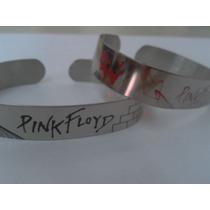 Pulseras De Acero Inox Pink Floyd The Wall