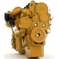 1:12 Replica Motor C15 Trailer Caterpillar A Escala Metalico